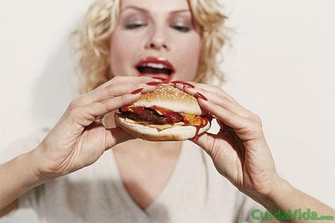 Grasa en las comidas