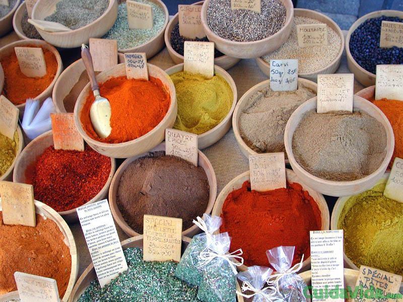 Las especias son un ingrediente imprescinble en la cocina y en la medicina