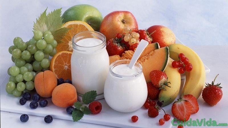yogures de frutas