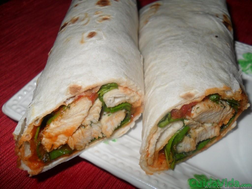 El wrap suele ser la mejor opción de los fast foods