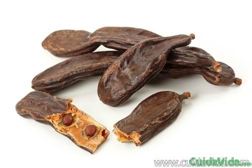 Las vainas de algarrobo se usan para sustituir el chocolate