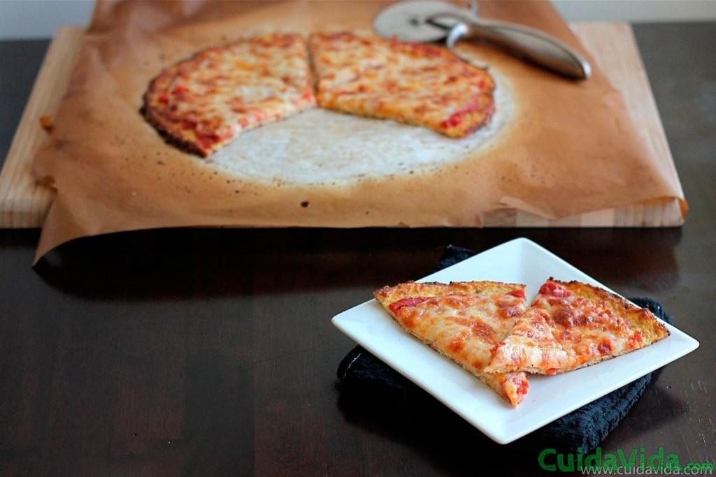 Masa para pizza sin harina