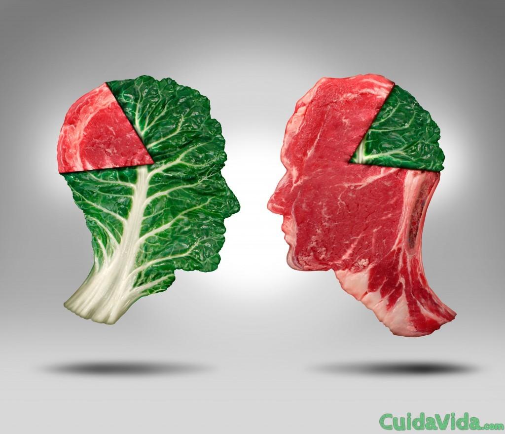 mito sobre las dietas sin carne