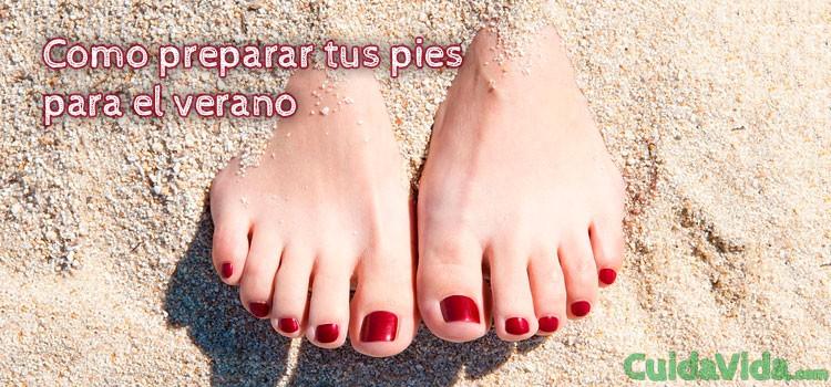 Cómo preparar tus pies para el verano