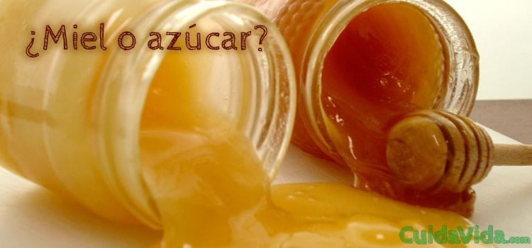 Miel vs azucar, cual es mejor