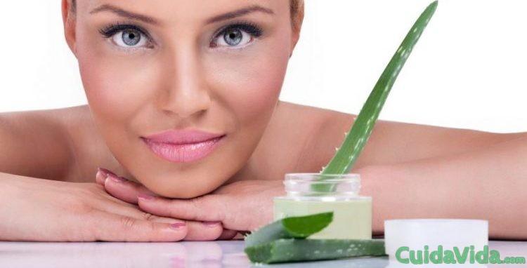aloe vera para una piel saludable