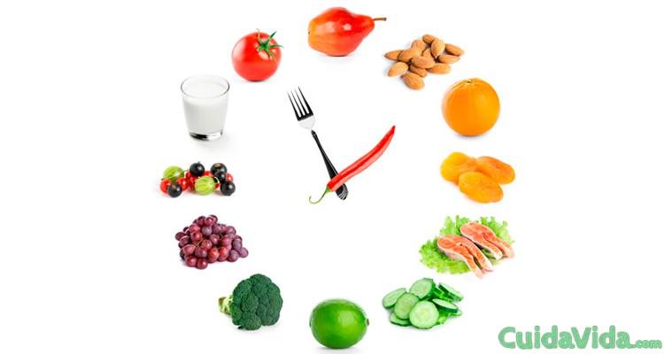 Comer cinco veces al día acelera el metabolismo