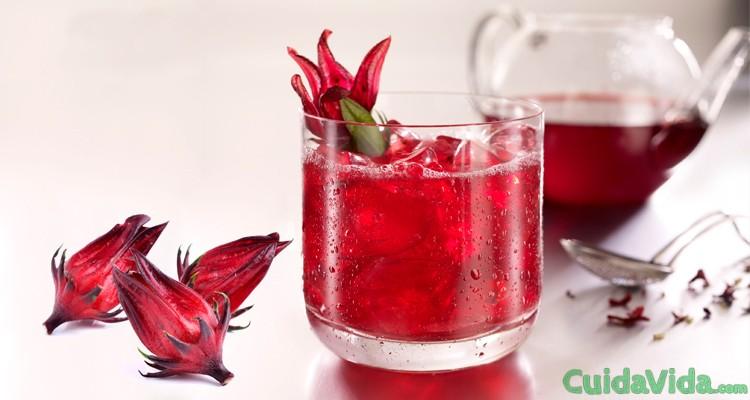 Còmo hacer agua de flor de jamaica en casa