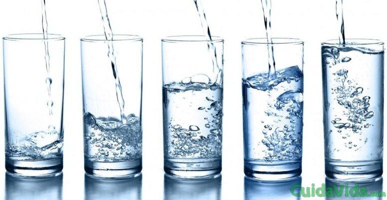 rentecionde liquidos agua
