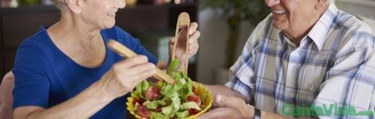 La alimentación durante la tercera edad