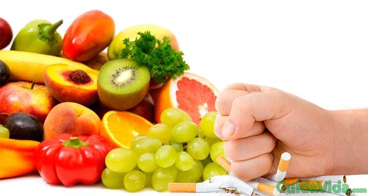 Alimentos que te ayudan a dejar de fumar
