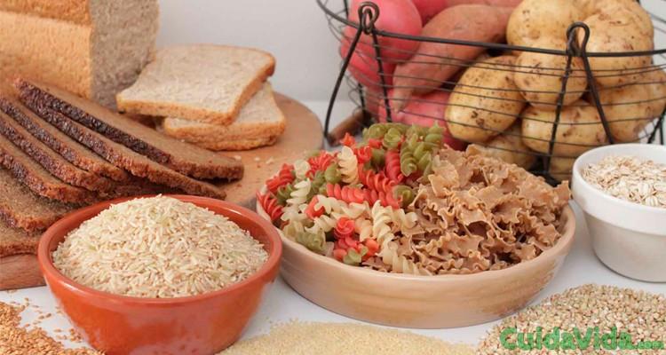 carbohidratos saludables integrales