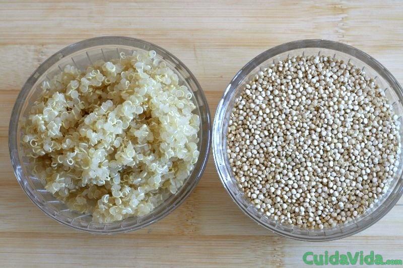 Quinoa para una alimentaci n saludable cuida tu vida for Cocinar la quinoa
