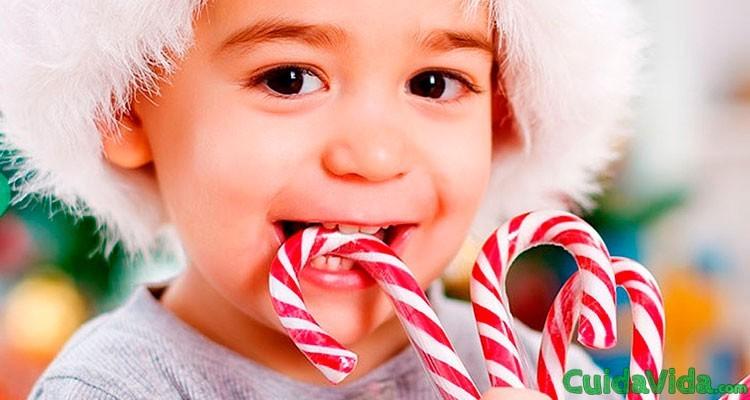 Efectos de los dulces de navidad en los dientes