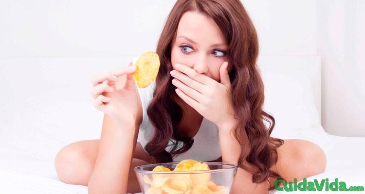 Cómo evitar las calorías vacías, qué son