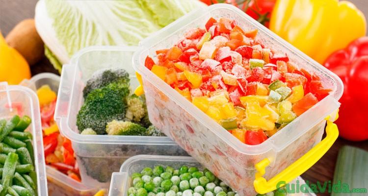 Es mejor verdura congelada, fresca o refrigerada